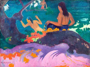 By the Sea, Gauguin
