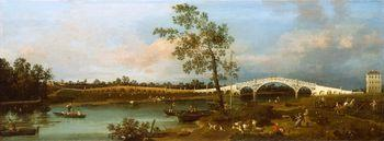 Old Walton Bridge, Canaletto