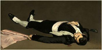 The Dead Toreador, Manet