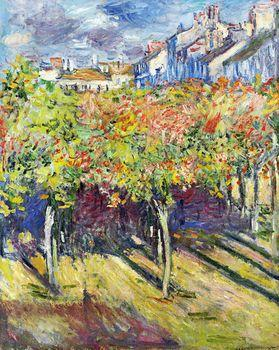 The Lindens of Poissy, Monet