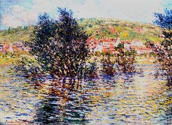 Vetheuil, View From Lavacourt, Monet
