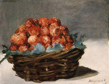 Strawberries, Manet