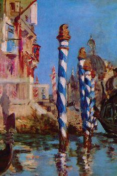 The Grand Canal of Venice, Manet