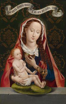 Madonna of the apple, Memling
