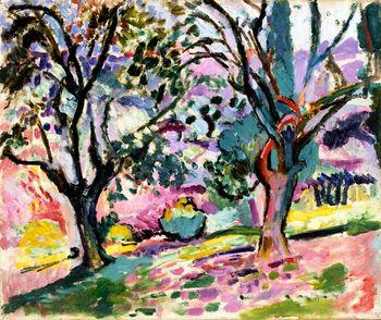 Olive Trees at Collioure, Matisse