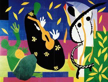 Sorrows of the King, Matisse