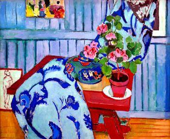 Still life with Geraniums, Matisse