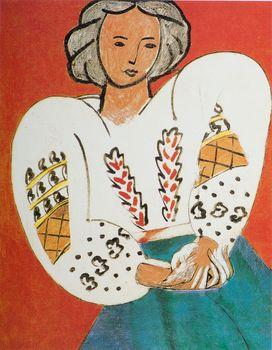 The Romanian Blouse, Matisse