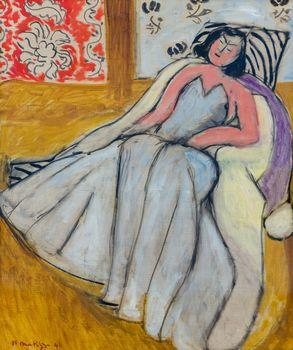 Young Woman with a White Pelisse, Matisse
