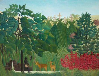 The waterfall, Rousseau