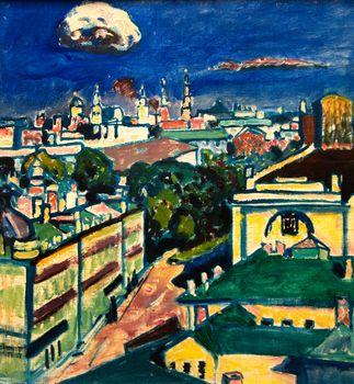 View of Moscow, Kandinsky